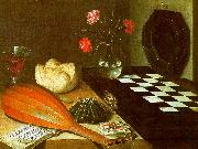 Lubin Baugin Still Life with Chessboard Sweden oil painting reproduction