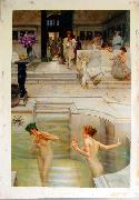 Alma Tadema Alma Tadema reproductions, photographed in  our studio Sweden oil painting reproduction