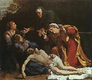 Annibale Carracci The Dead Christ Mourned Sweden oil painting reproduction