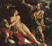 Annibale Carracci Venus, Adonis and Cupid Sweden oil painting reproduction