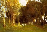 Arnold Bocklin The Sacred Wood Sweden oil painting reproduction