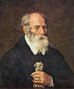BASSETTI, Marcantonio Portrait of an Old Man with Gloves 22 oil painting picture wholesale