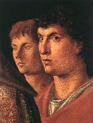 BELLINI, Giovanni Presentation at the Temple (detail)  jl Sweden oil painting reproduction