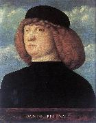 BELLINI, Giovanni Portrait of a Young Man xob oil painting picture wholesale