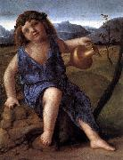 BELLINI, Giovanni Young Bacchus ffh oil painting picture wholesale