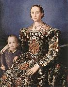BRONZINO, Agnolo Eleonora of Toledo with her son Giovanni de  Medici Sweden oil painting reproduction