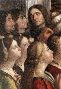 CARPACCIO, Vittore Apotheosis of St Ursula (detail) fdh Sweden oil painting reproduction