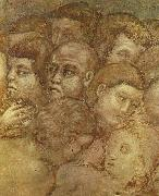 CAVALLINI, Pietro The Last Judgement (detail) rdgt Sweden oil painting reproduction