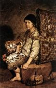 CERUTI, Giacomo Boy with a Basket Sweden oil painting reproduction