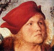 CRANACH, Lucas the Elder Portrait of Dr. Johannes Cuspinian (detail) dfg oil painting picture wholesale