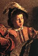 Caravaggio The Calling of Saint Matthew (detail) fdgf Sweden oil painting reproduction