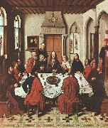 Dieric Bouts The Last Supper Sweden oil painting reproduction