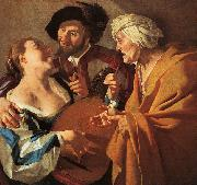 Dirck van Baburen The Procuress Sweden oil painting reproduction