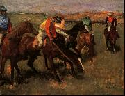 Edgar Degas Before the Race oil painting picture wholesale