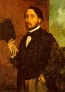 Edgar Degas Self Portrait_h oil painting picture wholesale