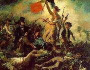 Eugene Delacroix Liberty Leading the People Sweden oil painting reproduction