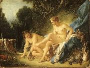 Francois Boucher Diana Leaving her Bath Sweden oil painting reproduction