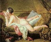 Francois Boucher Nude on a Sofa Sweden oil painting reproduction