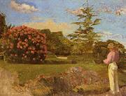 Frederic Bazille Little Gardener Sweden oil painting reproduction