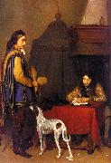 Gerard Ter Borch The Dispatch Sweden oil painting reproduction