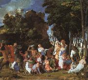 Giovanni Bellini Feast of the Gods Sweden oil painting reproduction