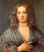 Girolamo Forabosco Portrait of a Courtesan oil painting picture wholesale