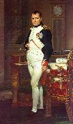 Jacques-Louis  David Napoleon in his Study Sweden oil painting reproduction