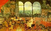 Jan Brueghel The Sense of Hearing Sweden oil painting reproduction