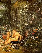 Jan Brueghel The Sense of Smell Sweden oil painting reproduction