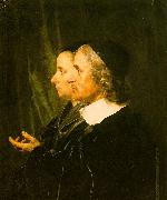 Jan de Bray Double Profile Portrait of the Artist's Parents oil painting picture wholesale