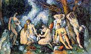 Paul Cezanne The Large Bathers Sweden oil painting reproduction