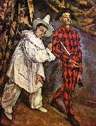 Paul Cezanne Mardi Gras Sweden oil painting reproduction