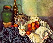 Paul Cezanne Still Life Sweden oil painting reproduction
