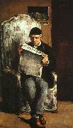 Paul Cezanne The Artist's Father Sweden oil painting reproduction