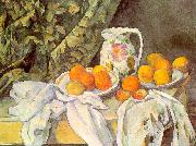 Paul Cezanne Still Life with Drapery Sweden oil painting reproduction