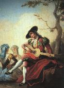 Ramon Bayeu Boy with Guitar Sweden oil painting reproduction