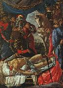Sandro Botticelli The Discovery of the Body of Holofernes Sweden oil painting reproduction