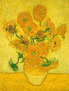 Vincent Van Gogh Sunflowers  ww Sweden oil painting reproduction