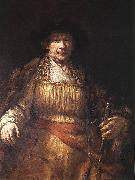 REMBRANDT Harmenszoon van Rijn Self-portrait saq oil painting picture wholesale