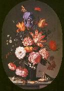 AST, Balthasar van der Flowers in a Glass Vase Sweden oil painting reproduction