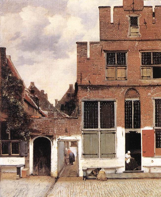 Jan Vermeer   The Litt...