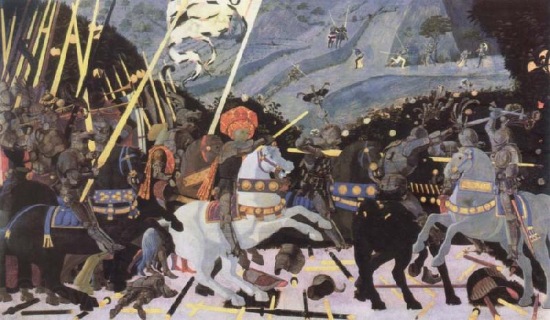 uccello battle of san romano. paolo uccello the attle of